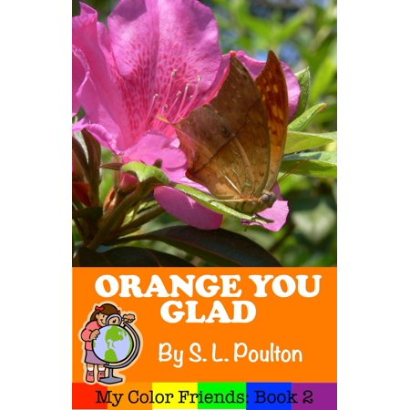 Orange You Glad: A Preschool Early Learning Colors Picture Book - eBook - Orange You Glad It's Halloween