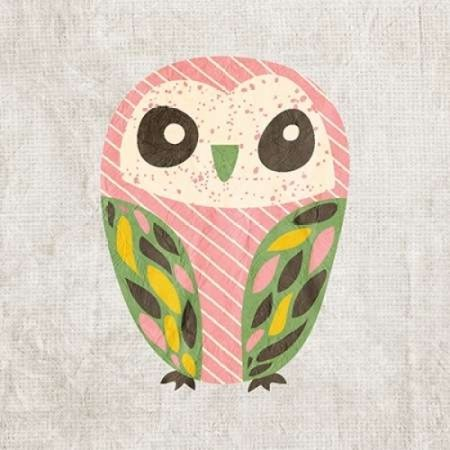 Owl Love 1 Poster Print by Kimberly Allen (12 x 12)](Thirty One Owl Print)