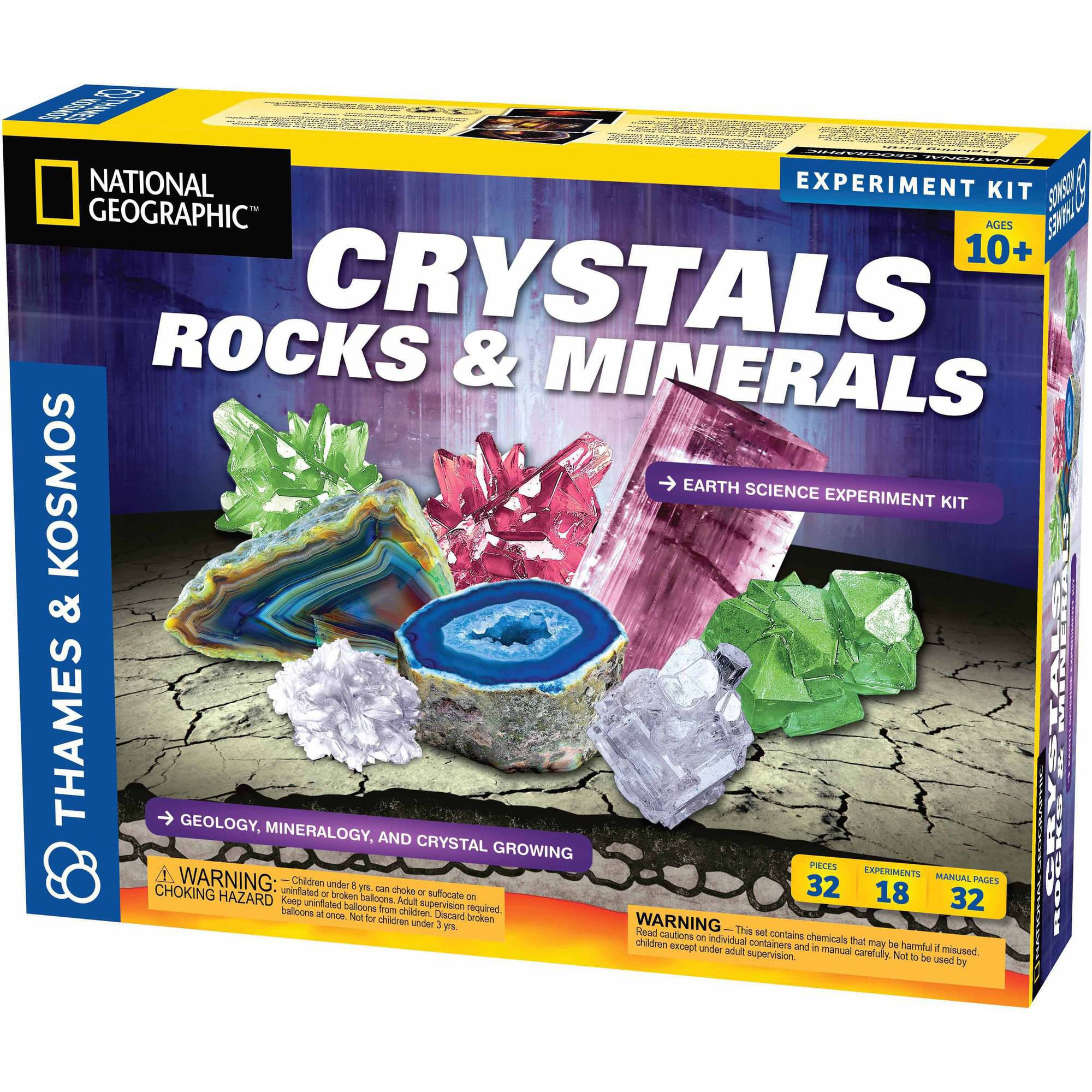 Thames & Kosmos Crystals, Rocks & Minerals Science Experiment Kit