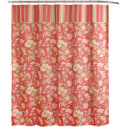 Waverly Honey Moon Collection Shower Curtain