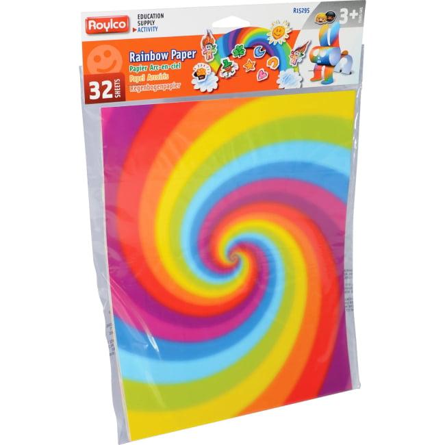Roylco Rainbow Paper (r15295)