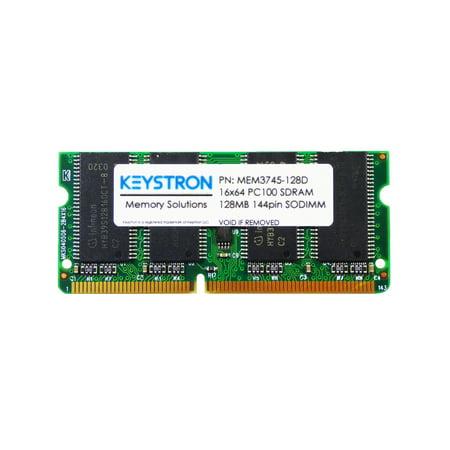 - 128MB Cisco 3745 Router 3rd Party Memory Upgrade (p/n MEM3745-128D, MEM3745-128U256D)