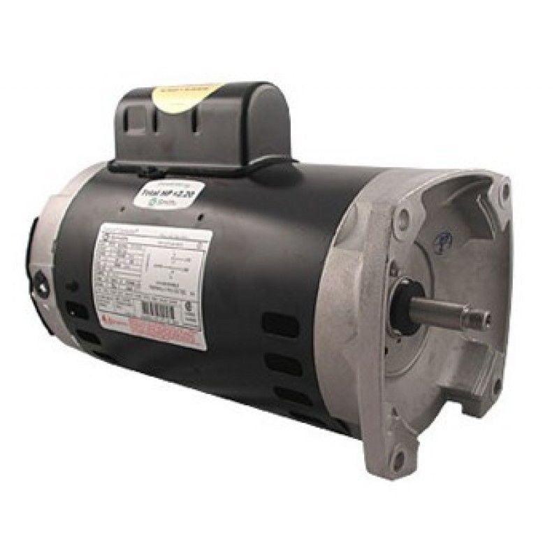 A.O. Smith B2984 2-Speed 56Y Frame 2HP 230V Square Flange Pump Motor