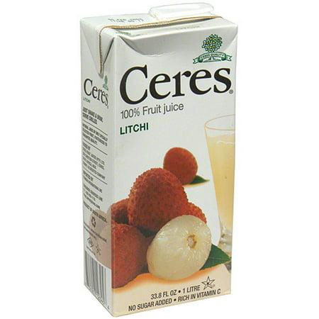 Ceres Litchi Juice, 33 8 Fl Oz, (pack Of - Walmart com