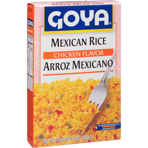 Goya Chicken Flavor Mexican Rice Arroz Mexicano, 8 oz, (Pack of 24)