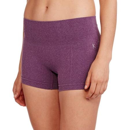 c6913084640ae Danskin Now - Women s Seamless Performance Workout Shorts - Walmart.com