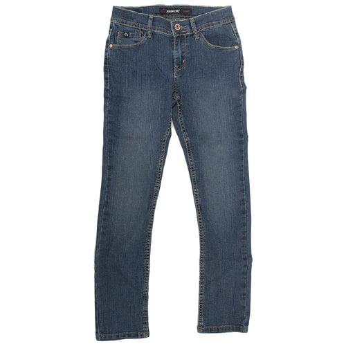 Jordache Girls' Skinny Jeans, Dark Enzyme