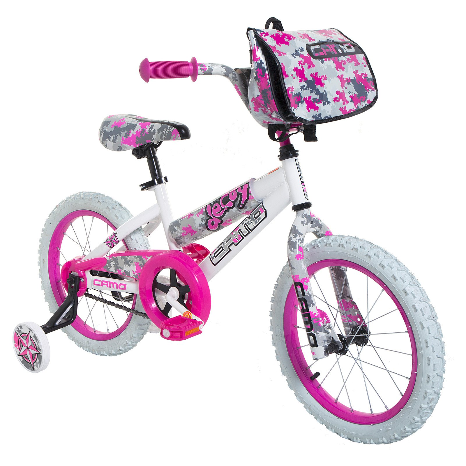"16"" Camo Decoy Girls' Bike"