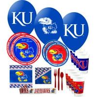 Kansas Jayhawks Party Supplies Pack #3