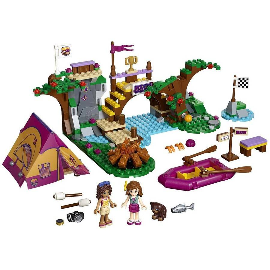 LEGO Friends Adventure Camp Rafting, 41121