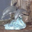 Calf Miniature - Country Artists 03894 Dolphin and Calf Miniature Figurine