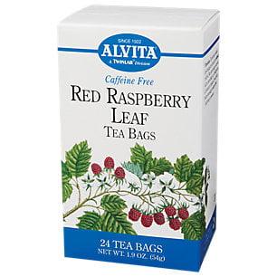Organic red raspberry leaf