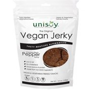 Unisoy Vegan Jerky Black Pepper 3 Pack