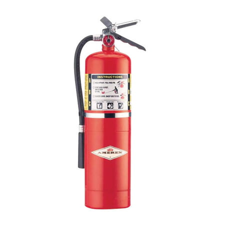 Image of Amerex 10 Pound ABC Dry Chmcl Fire Extinguisher With Aluminum Valve
