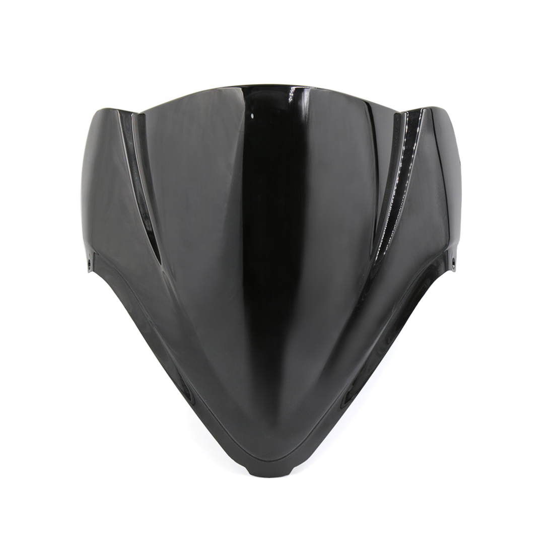 Black ABS Plastic Motorcycle Windshield Windscreen for 08-14 GSX1300R Hayabusa - image 3 of 3