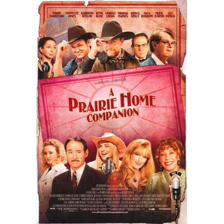 A Prairie Home Companion Movie Poster Style C 11 X 17 2006
