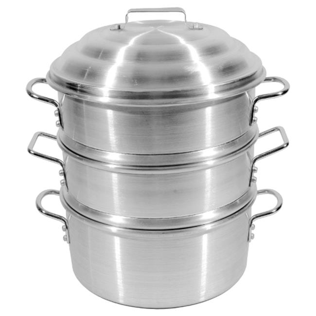 Town Food Service 34414-S 14 inch Aluminum Steamer Set