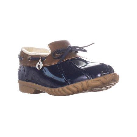 Womens Sporto Patty Low Top Duck Boots, Navy