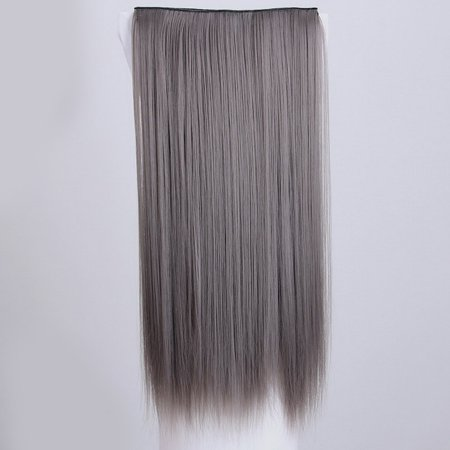 VENSE Natural Fashion Women High Temperature Wigs Straight Synthetic Hair Cosplay - image 1 de 2