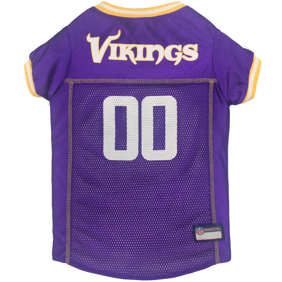 Pets First NFL Minnesota Vikings Pet Jersey