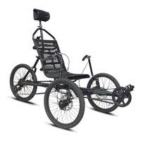 "Kent 20"" Cavalier Recumbent 3-Wheel Bike / Trike, Black"