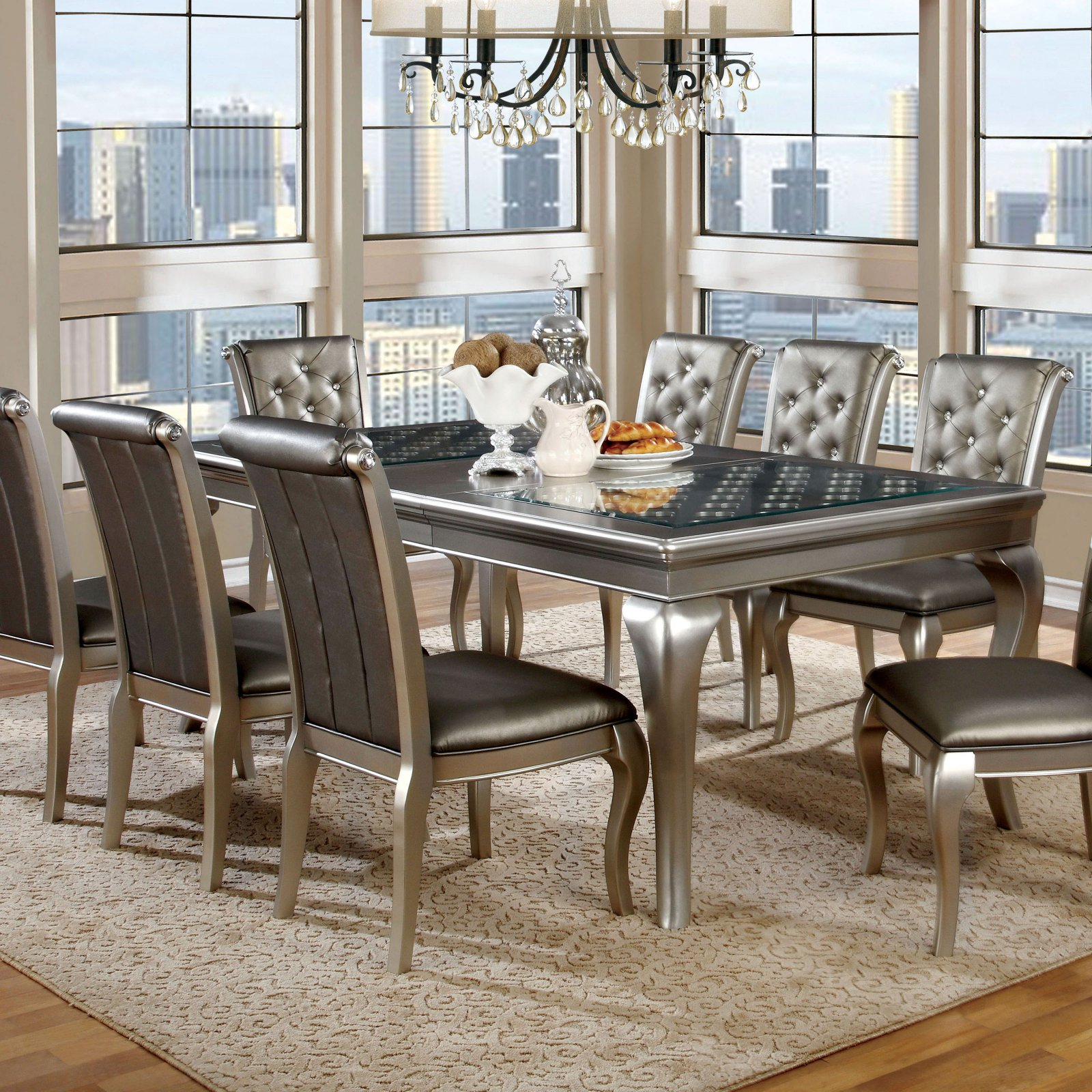 Furniture of America Sylera Dining Table