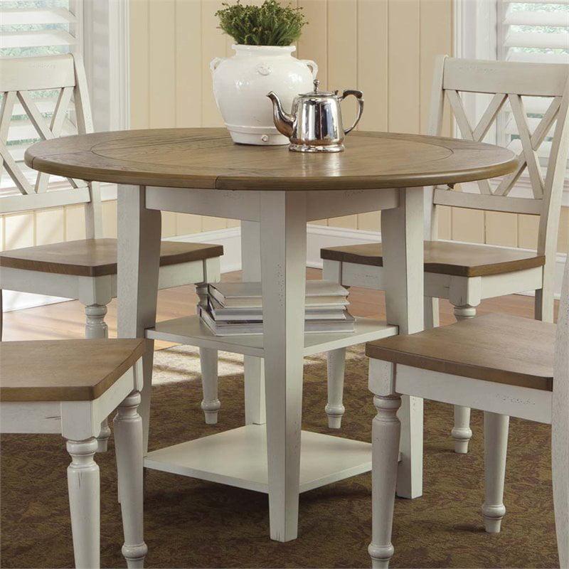 Liberty Furniture Al Fresco III Drop Leaf Dining Table in Driftwood