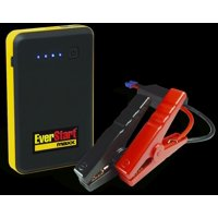 Everstart 400 Amp 6000 mAh Lithium Jump Starter with Smart Cable Clamps and Micro USB to USB Charging Cable