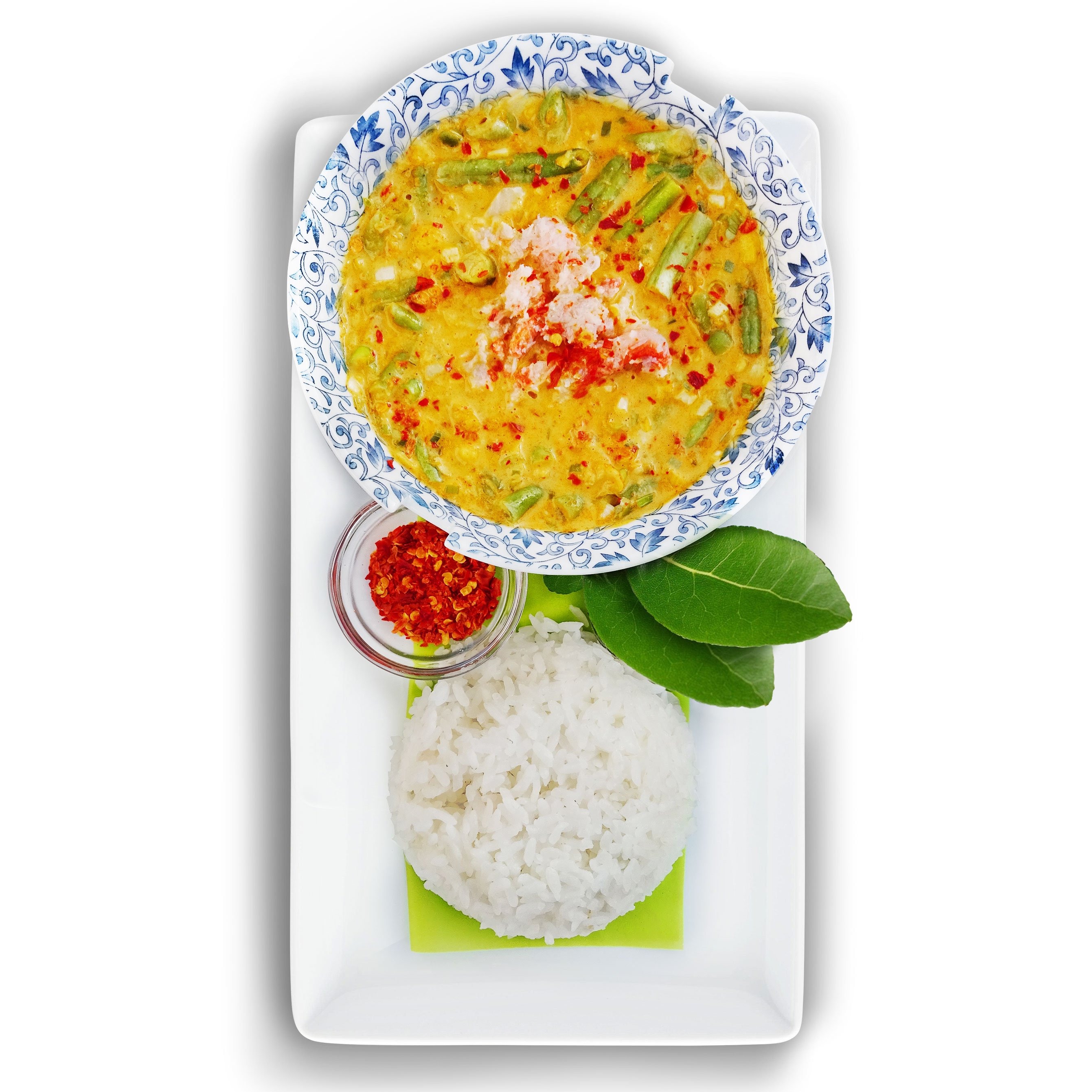 Takeout Kit, 4 Servings, Thai Crab Curry Meal Kit