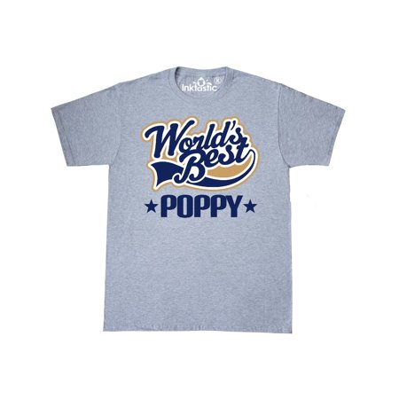 Worlds Best Poppy Grandpa T-Shirt