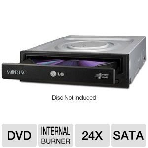 LG Electronics DVDRW 24X SATA Optical Drives GH24NS72B