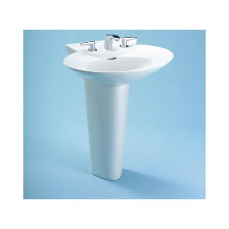 Toto Vitreous China Pedestal Only for LPT908N Sinks, Available in ...