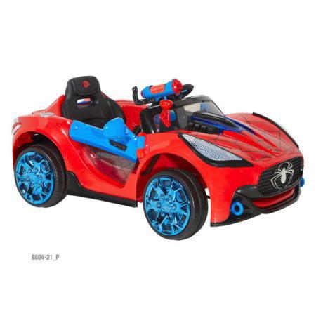 Spiderman-marvel 6 Volt Spider-man Super Car for Kids