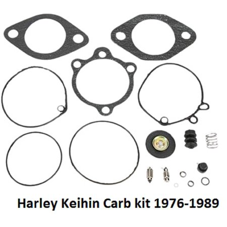 Keihin Rebuild Kit for Harley-Davidson OEM 27006-76, New