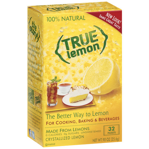 True Lemon Crystallized Lemon, 32ct