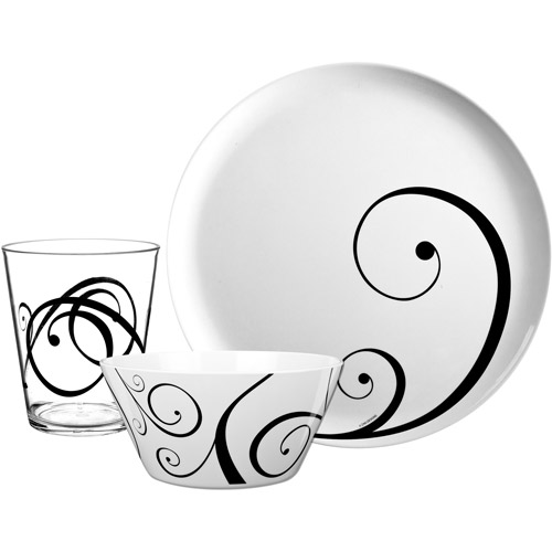 Zak! 12-Piece Urbana Dinnerware Set
