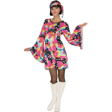 Womens Go-Go Girl Halloween Costume - Womens Halloween Costumes Walmart