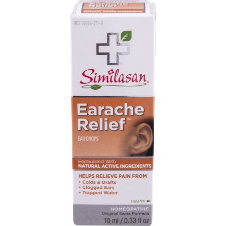 (2 Pack) Similasan Ear Relief Ear Drops, 0.33 FL (Drops To Get Water Out Of Ear)