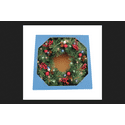 Celebrations Castle Hill Prelit Green Christmas Wreath 26 in. Dia.