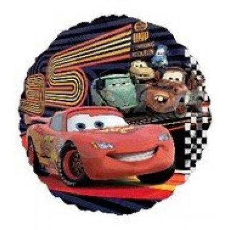 18-in Disney Cars McQueen and Party Balloon - Car Party Decorations