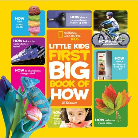 National Geographic Little Kids First Big Book of How - How Big Is At Rex