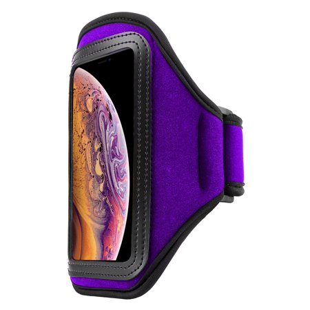 Sweat Resistant Waterproof Running Armband For iPhone XS / XR / X and Google Pixel 3 / 2 Sport Workout Case For Fitness And Workout -
