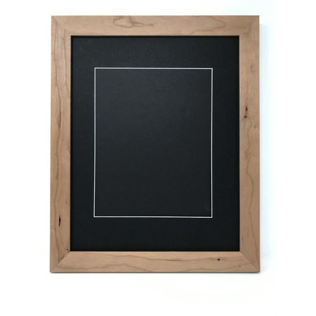 16x20 125 Natural Rustic Solid Wood Picture Frame With Black
