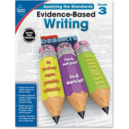 Carson-Dellosa, CDP104826, Grade 3 Evidence-Based Writing Workbook, 1 Each (Third Grade Halloween Arts And Crafts)