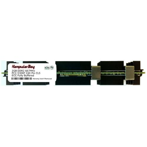 Komputerbay 2GB DDR2 PC2-5300F 667MHz CL5 ECC Fully Buffe...