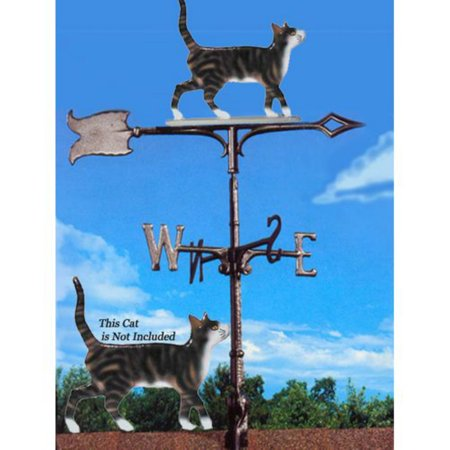 Painted Cat Weathervane