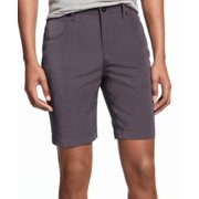 INC NEW Solid Charcoal Gray Mens Size 34 Regular Fit Four-Pocket Shorts
