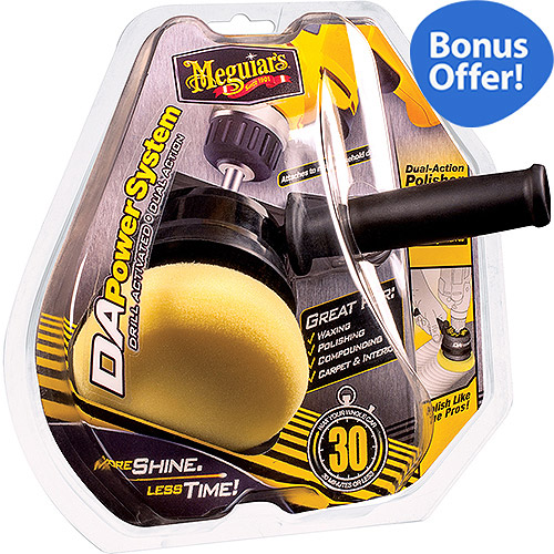 Meguiar's DA Power System Tool + Optional PowerPak Special Offer