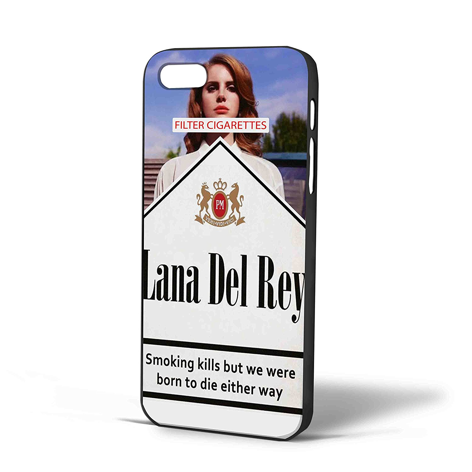 Ganma Lana Del Rey Cigarettes Case For iPhone Case (Case For iPhone 6 Plus White)