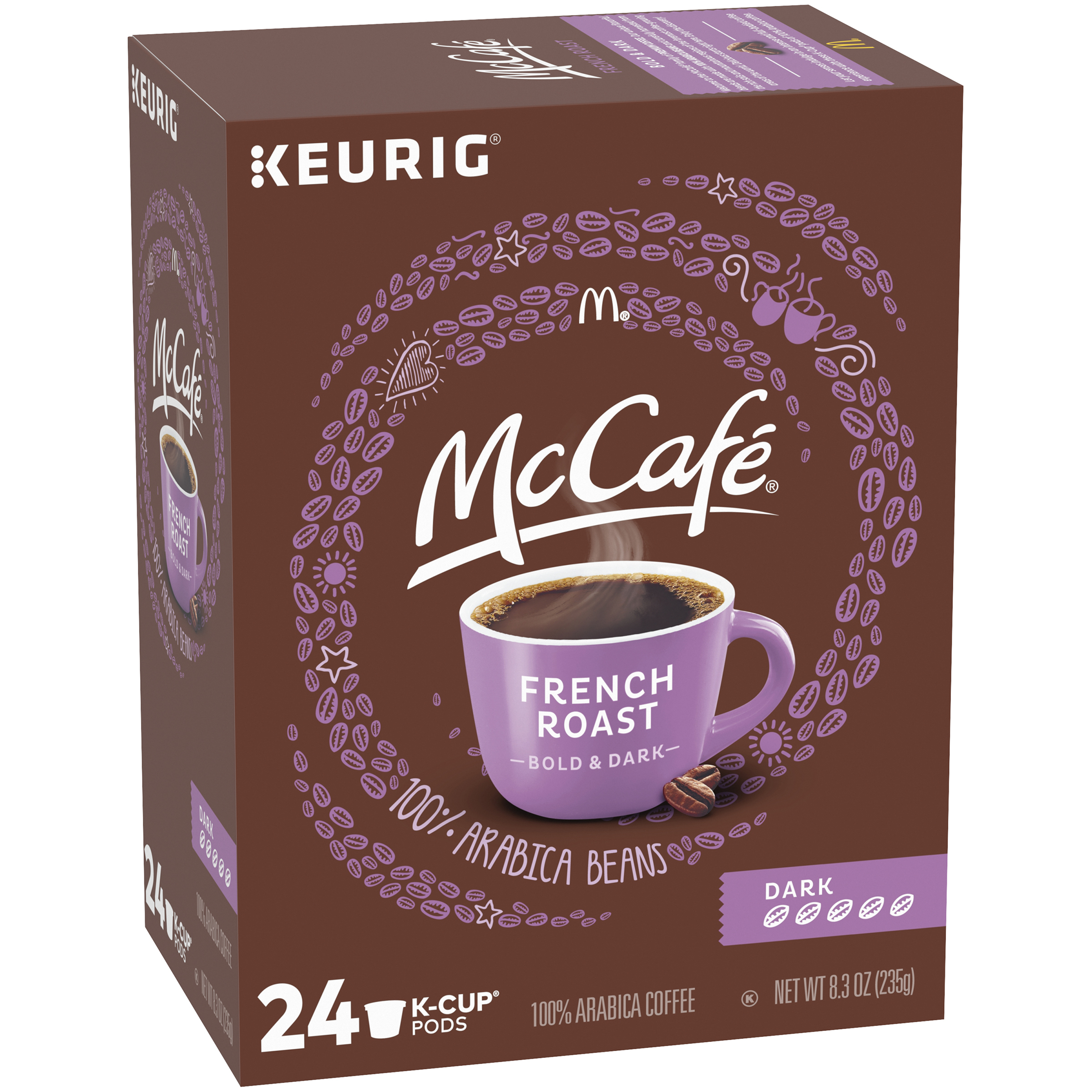 McCafe French Roast Coffee K-Cup Pods 24 count Box